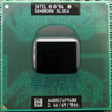 Original Intel Core 2 Duo P9600 SLGE6 2.66G/6MB/1066MHz Mobile CPU P9600 laptop CPU