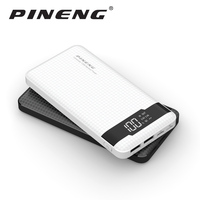 Pineng PN 961 10000mAh Power Bank PN961 Mobile Portable Charger Li Polymer with LED Indicator Fast Charger For Xiaomi iPone XS