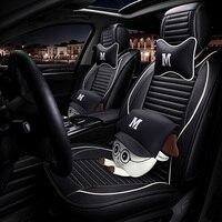 Комплект универсальных чехлов для автомобильных сидений для h4 h7 светодиодные ford focus 2 3 Fiesta Fusion ford focus mk2 mondeo mk4 mk3 автомобильные аксессуары для