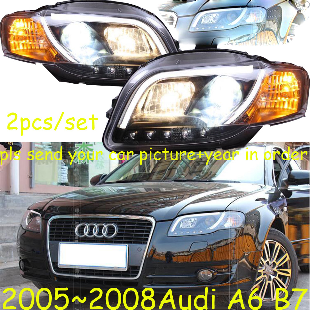 HID, 2005 ~ 2008 style de voiture pour Aude A6 B7 phare, ballast canbus, A6 antibrouillard, A4, A5, A8, Allroad, Quattro, Q3, Q5, Q7, S3, a6 lampe frontale