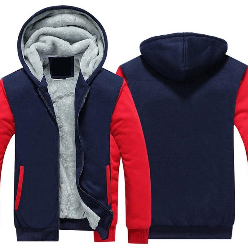 2018 осень-зима пальто одноцветное Цвет кашемир с капюшоном Для мужчин S хлопковая куртка плотное пальто теплая верхняя одежда Для Мужчин фли...