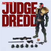 1/6th Escala Collectible Action Figure Brinquedos Modelo Judge Dredd