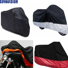 Waterproof Outdoor UV Protector Motorbike Rain Dust Motorcycle Cover For Harley Street Glide Electra Glide Sportster 883 48 Dyna