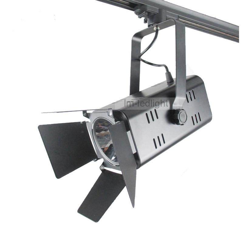 30pcslot lighting art gallery 30w black white track system replace 300w halogen warm art track lighting