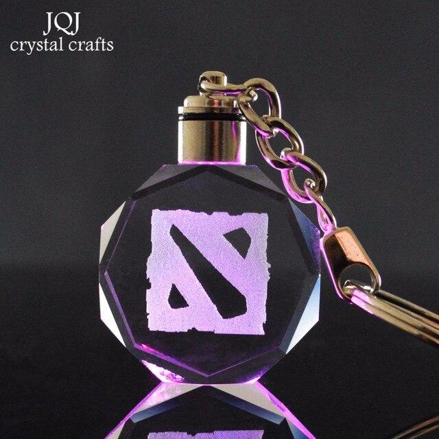 aliexpress com buy laser engraved dota game theme crystal crafts