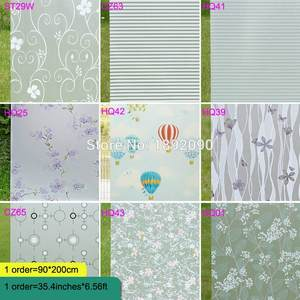 45/60/90--400cm Glass-Stickers Window-Film Privacy Waterproof Frosted Self-Adhesive Bathroom