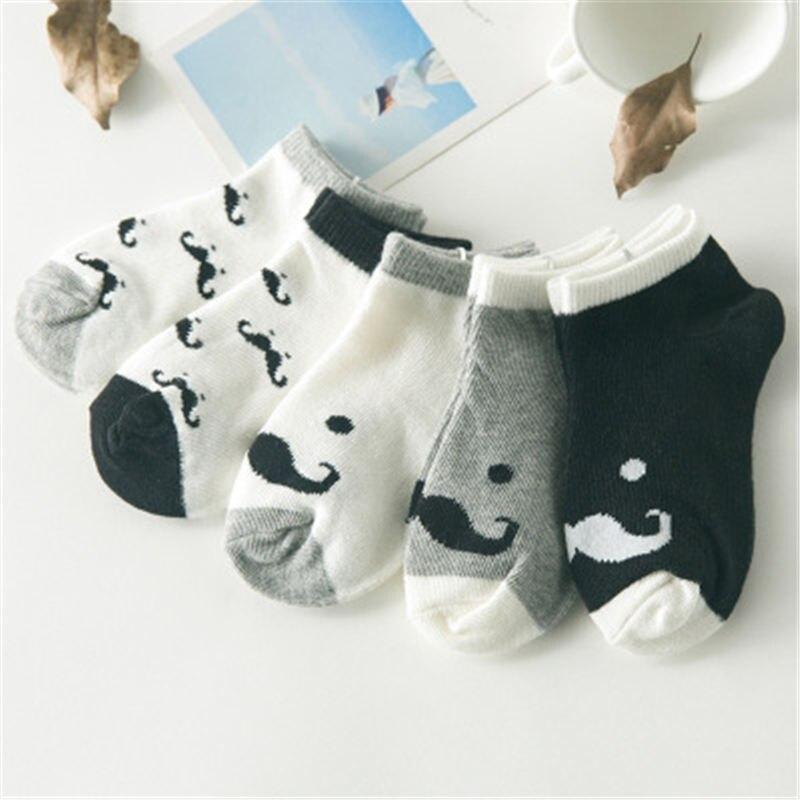 5 Pair/lot Baby Socks Cotton Kids Girls Boys Children Socks For 1-10 Year 2017 autumn winter New infant toddler Kids Socks ...