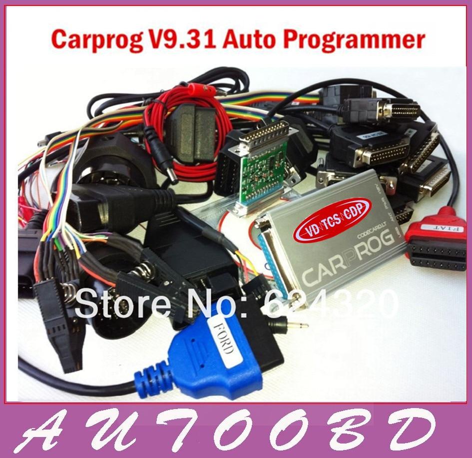 Цена за 2017 новые авто ремонт инструмента CARPROG Полный V9.31 программист автомобиль прога все программное обеспечение (радио, одометров, панели, иммобилайзер)