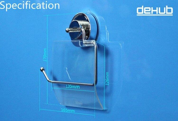 Sucker Toiletpapirholdere Toiletpapirholder Fleksibel Med Cover Til - Husholdningsvarer - Foto 3