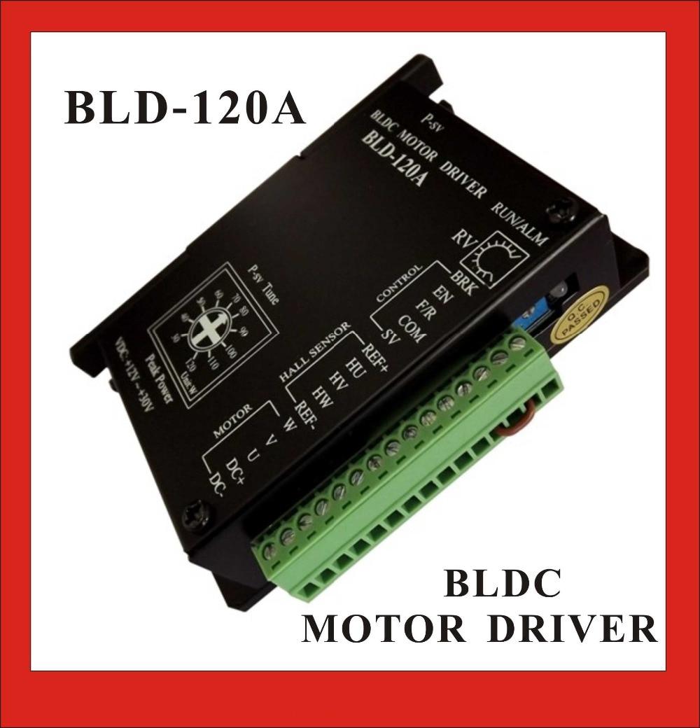 BLDC Motor Driver Controller 120W 12V-30V DC Brushless Motor Driver BLD-120A brushless dc motor driver bldc controller bld 120a for 42 brushless motor