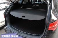 High Quality For HYUNDAI Santa Fe IX45 2013 2014 Rear Trunk Security Shield Cargo Cover Black