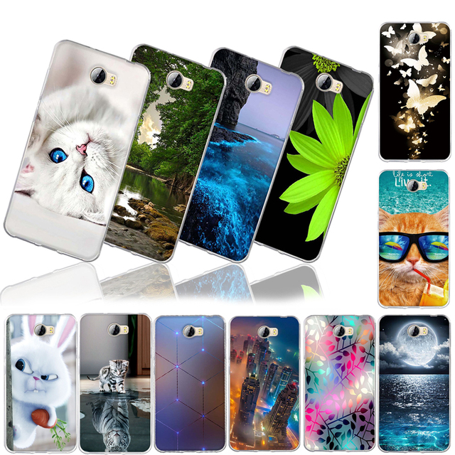 Case for huawei y5 ii Case Cover for Huawei Honor 4c Pro Case Silicone fundas For Huawei honor Y6 Pro P9 LITE P8 lite