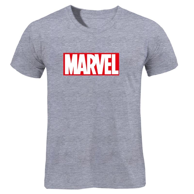 MARVEL T-Shirt 2019 New Fashion Men Cotton Short Sleeves Casual Male Tshirt Marvel T Shirts Men Women Tops Tees Boyfriend Gift 45