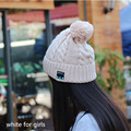 Bluetooth Hat Winter Snow Knit Wireless Stereo Music Handsfree Knit Cap Headphone Headset Speaker Mic for girls women Smart Cap