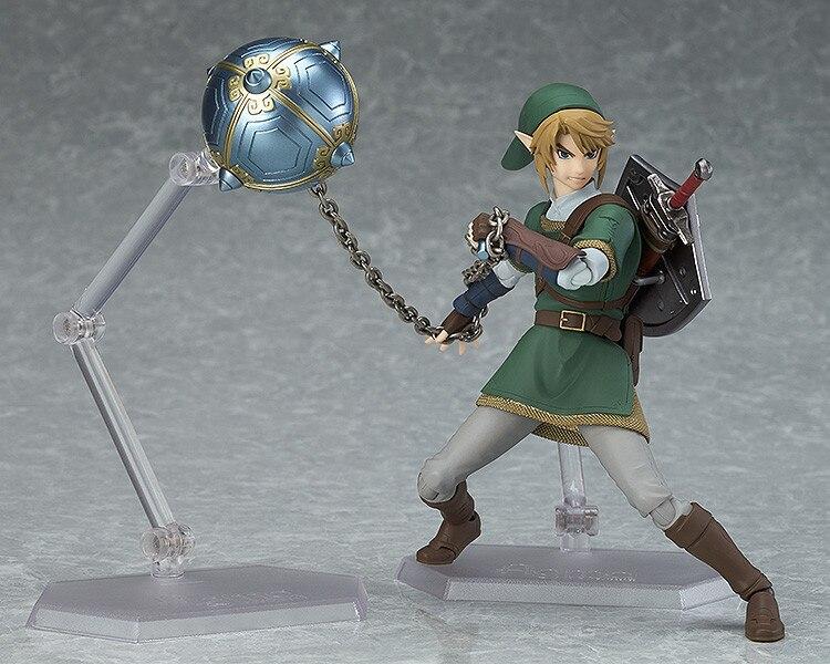 Anime 319 The Legend of Zelda LINK Twilight Princess PVC Action Figure Status NB