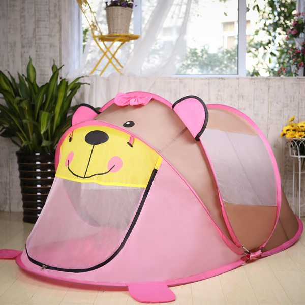 Portable Cartoon Animal Kids Toys Tent Children Kids Indoor Outdoor Playing House Folding Baby Toy Tent Children Gifts for Kids