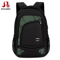 Free ShippingMen Multi Function USB Charge 15 6inch Laptop Backpack Large Capacity Casual Bag Waterproof Backpack