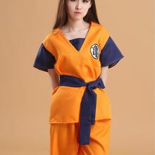 Anime Cosplay traje unisex Dragon Ball Z hijo Goku adulto Super Saiyan  uniforme set alta calidad 034039b9274a