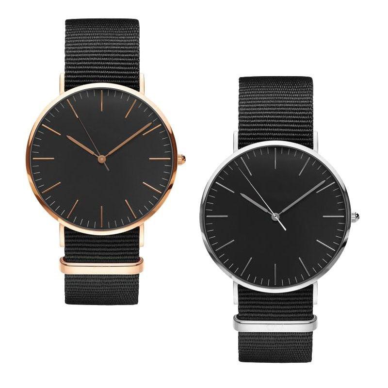 Nowe mody kobiet zegarek nylonowy pasek NATO biznesu na co dzień - Zegarki damskie - Zdjęcie 2