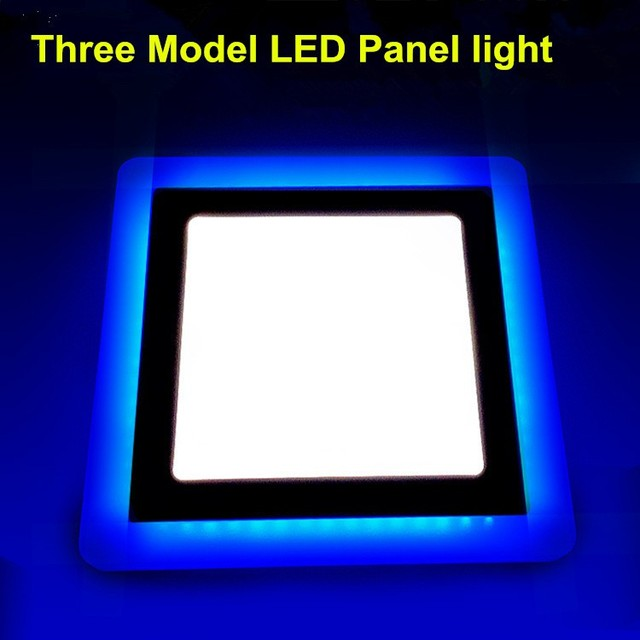 Super Bright 16 Wattage Led Panel Ceiling Llight Square Recessed Lighting Fixture Living Room Decoration