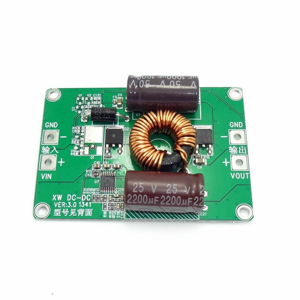 цена на Converter 12V24V36V(8.5V-40V) Step Down 5V 10A 50W Car Power Supply Buck Module Power Adapter Voltage Regulator DC DC Bare