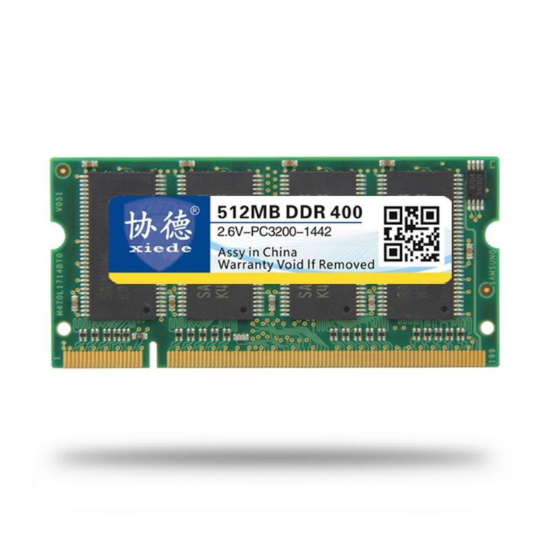 XieDe Memory Ram DDR 1GB para portátil Sodimm Memoria 400 Mhz 333MHz - Componentes informáticos - foto 4