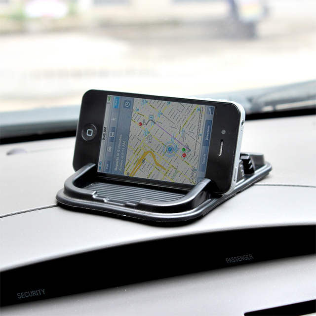 Edible eco-friendly latex car cell phone pad glove pad mobile phone holder pad superacids slip-resistant pad