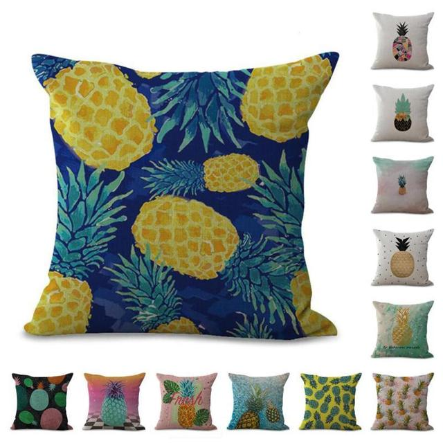 Home Pinele Pattern Empty Pillow Case Bedroom Living Room Sofa Backrest Cushion Cover Car Chair Decorative