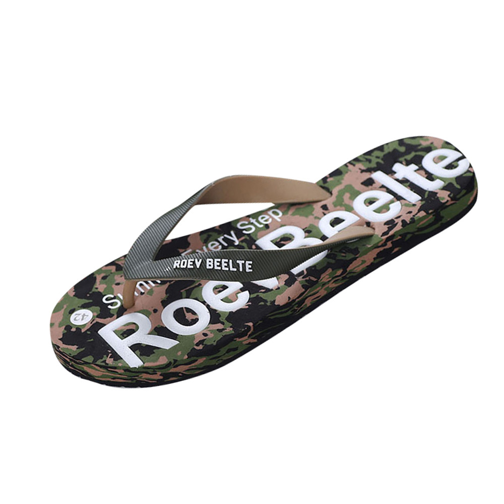 Summer Casual Slippers Men Camouflage Flip Flops Shoes Sandals Slipper indoor & outdoor Flip-flops Zapatillas Hombre Beach ShoesSummer Casual Slippers Men Camouflage Flip Flops Shoes Sandals Slipper indoor & outdoor Flip-flops Zapatillas Hombre Beach Shoes