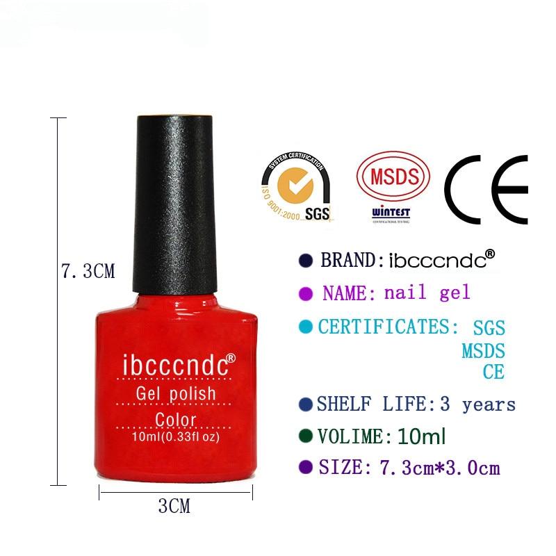 10 unids Gel de uñas Polaco Nail Art Set UV Gel Kit de manicura Gel - Arte de uñas - foto 5