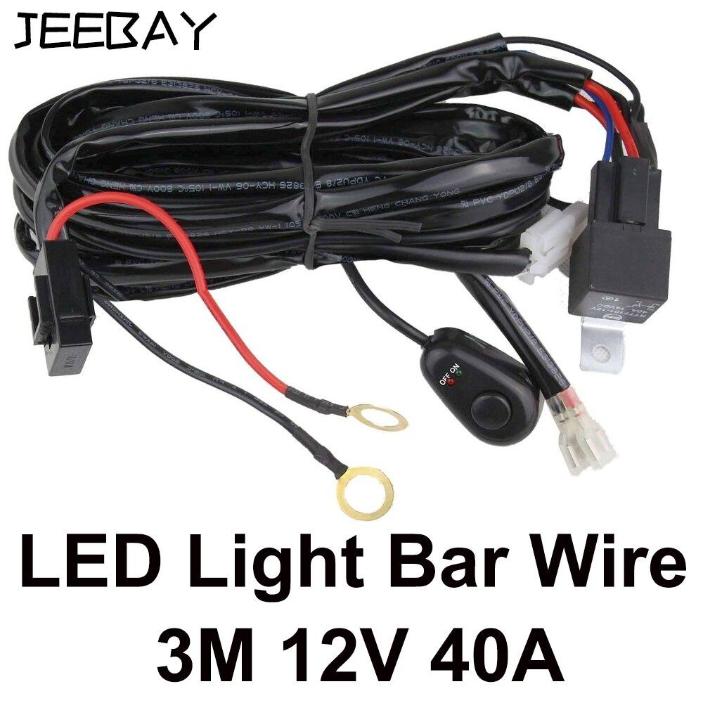 With Led Light Bar Wiring Harness On Universal Fog Light Wiring Kit
