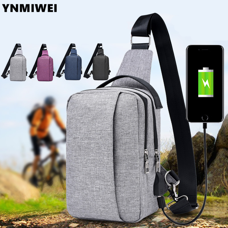 Chest Pack Multifunctional Men Messenger Bags Casual Travel Male Small Retro Shoulder Bag For iPad Mini 8.0 inch Tablet Bag