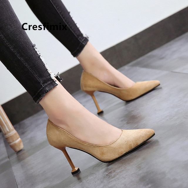 Women Classic Pink High Quality Office High Heel Shoes Lady Classic Spring & Summer Pumps Talon Femme Female Sweet Heels G5153