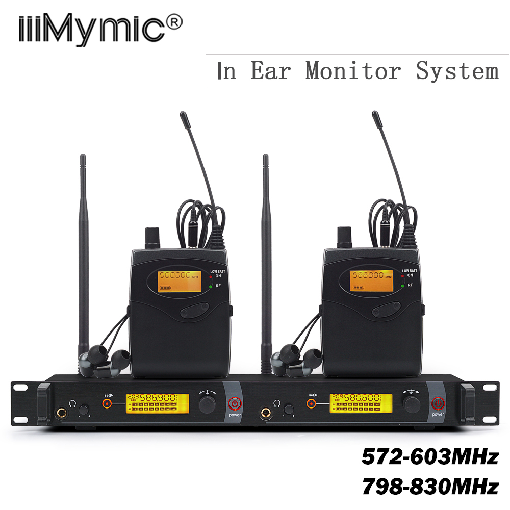 buy top quality sr2050 in ear monitor wireless system twin transmitter. Black Bedroom Furniture Sets. Home Design Ideas