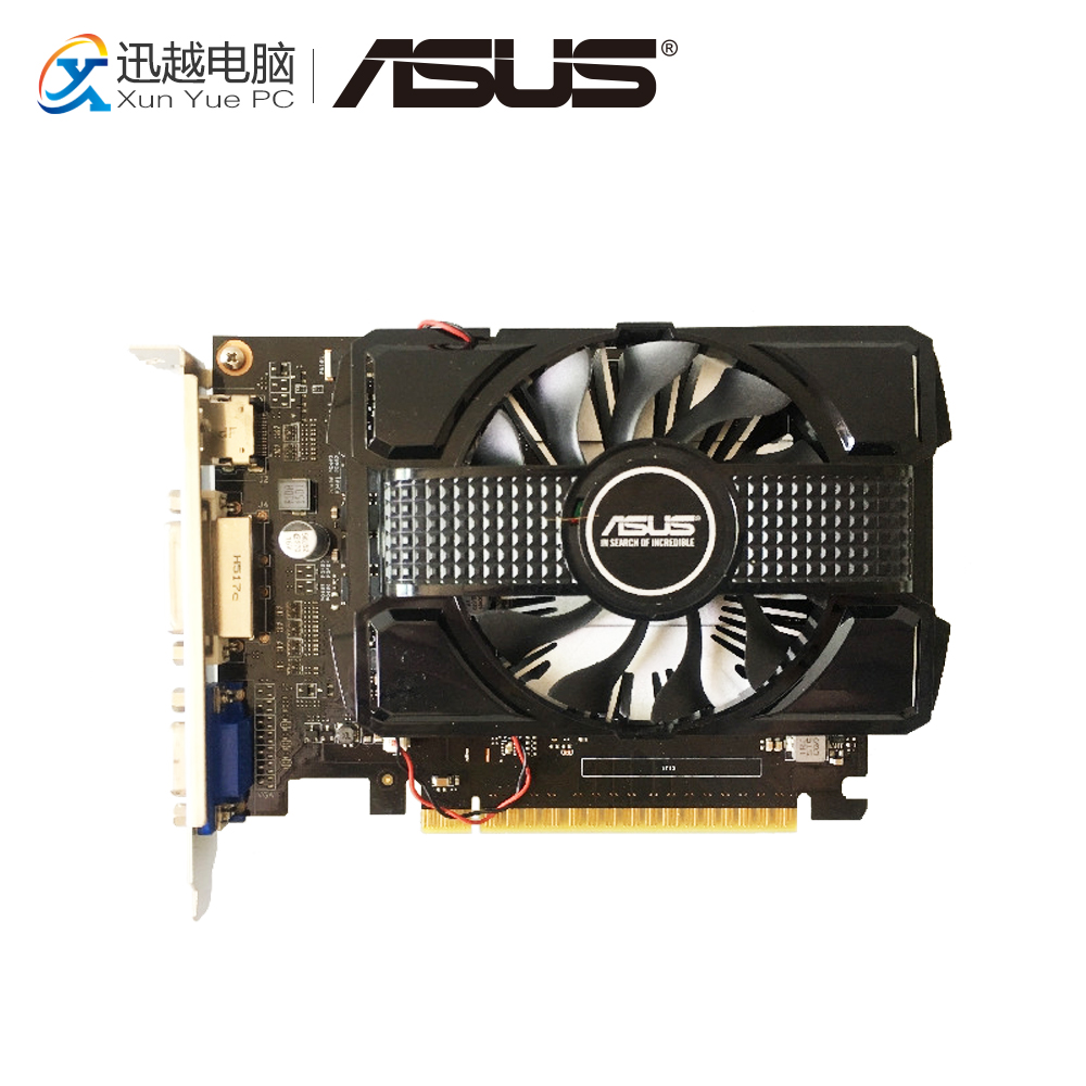 ASUS GTX 750 2GB DP GDDR5 Original Graphics Cards 128 Bit GTX750 Video Card VGA DVI HDMI For Nvidia Geforce dhl ems free shipping original high quality for mac pro nvidia quadro 4000 2gb graphics video card dvi dp cuda 2008 2012 href