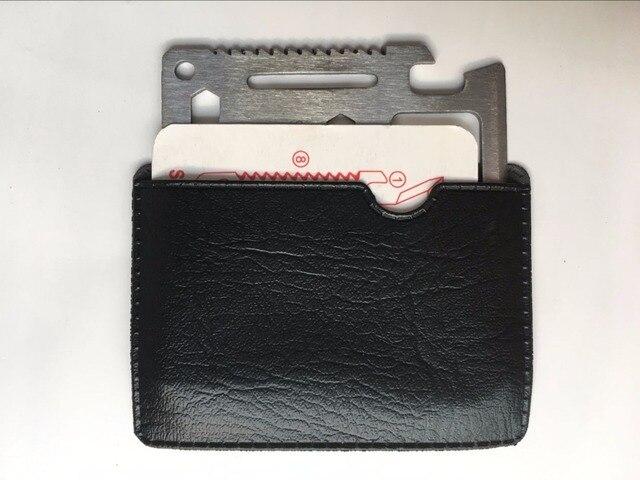 Freeshipping 10pcs/50pcs Survival multifunctional tool knife saber camping card knife present gift