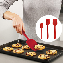 Baking Utensils Food Grade Silicone Scraper three-piece Baking Suite Salad Larger Trumpet Scraper
