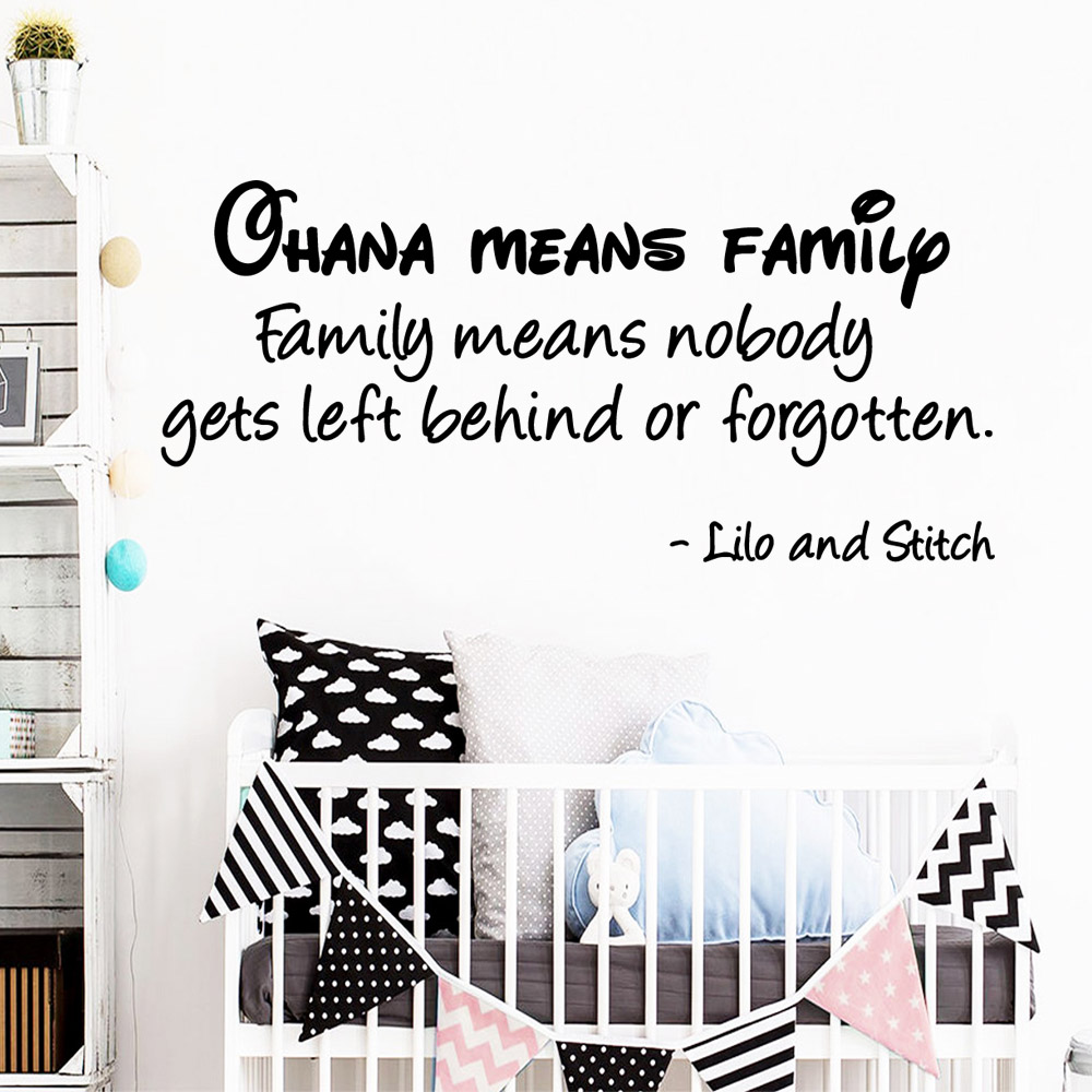 American-Style English Sentences Wall Stickers Home Decor Girls Bedroom Sticker For Kids Rooms Vinyl Art Decals