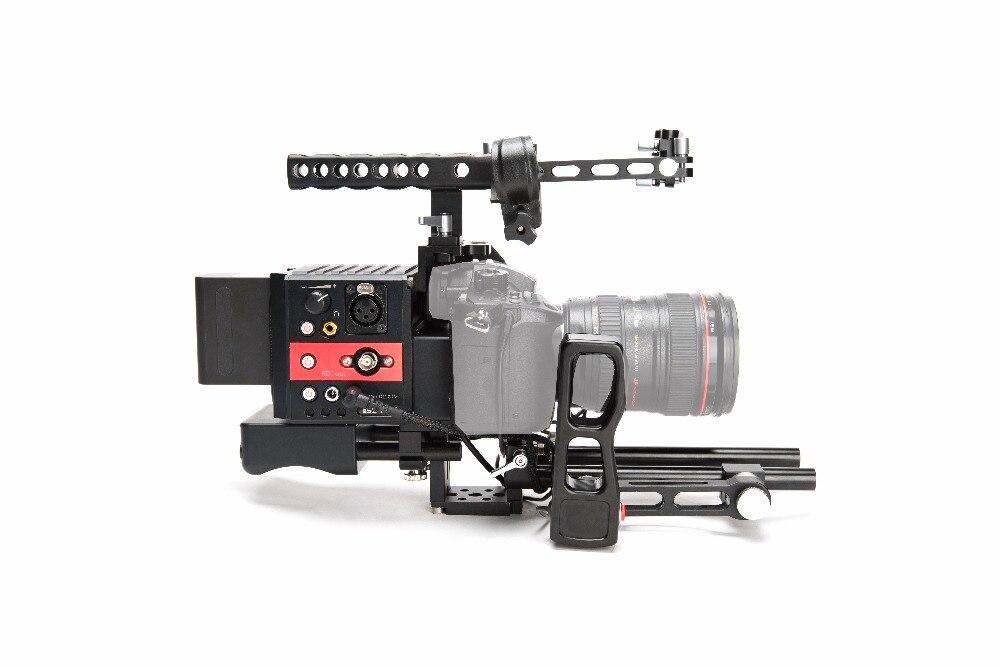Asxmov-scorpion support de montage d'épaule stabilisateur vidéo boîtier mat appareil photo reflex numérique pour Sony A7R2/A7S2/A72 pour Panasonic GH5/GH4