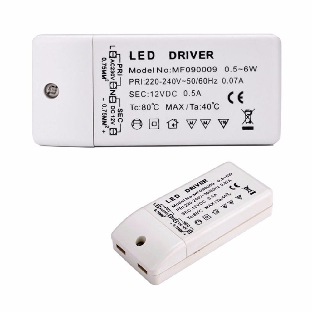 Image 2 - led driver transformer 50w 30w 18w 12w 6w dc 12V output 1A Power Adapter Power supply for led lamp led strip downlight-in Lighting Transformers from Lights & Lighting