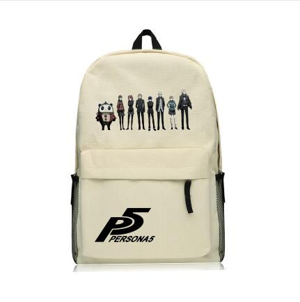 New Arrival Canvas <font><b>Backpack</b></font> <font><b>Persona</b></font> <font><b>5</b></font> School Students Bags Printing TAKE YOUR HEART UNISEX Travel Daily Commuting Bags image