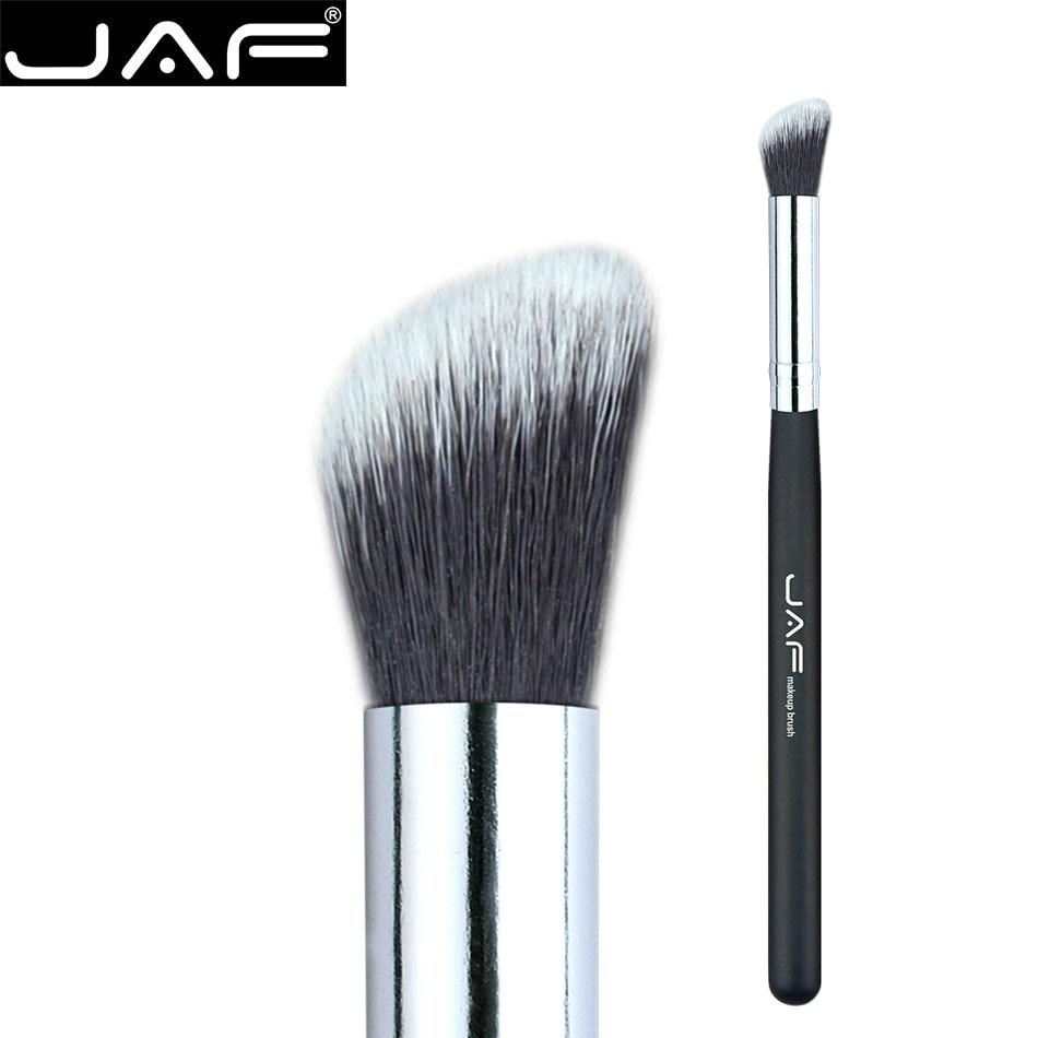JAF Makeup Brushes 1Piece Superior Professional Soft Cosmetics Eyeshadow Blending Brush Angular Precision Kabuki Brush 08SSYH