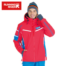 RUNNING RIVER Brand High Quality Ski Jacket For Men 4 Colors 6 Sizes Man Winter Outdoor Sports Jackets Warm Ski Clothing #A5026