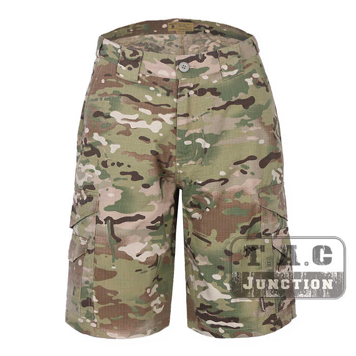 Emerson Tactical Pants All Weather Outdoor Camo Assult Combat Short Pants Trouser EmersonGear BDU Gear Hunting