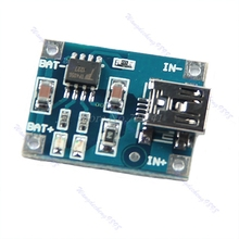 1 шт. Универсальный 5 в мини USB 1A литиевая батарея зарядная плата модуль зарядного устройства