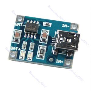 New 1pc Universal 5V Mini USB 1A Lithium Battery Charging Board Charger Module