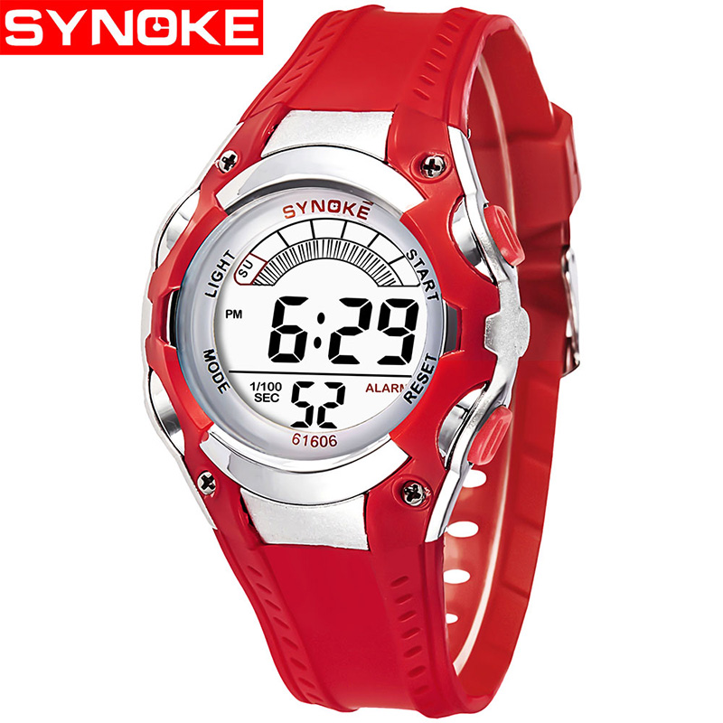 Watch Children Waterproof LED Digital Watches For Boys Girls 2018 Cute Kids Date Electronic Wristwatch Student Clock Gifts reloj children sport watches digital wristwatches for student kids boys girls clock 2018 led electronic watches waterproof kol saati