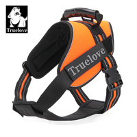 Truelove Pet Dog Harness With Heavy Duty Handle No Pull Pet Dog Training Vest Nylon Chest