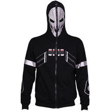 OW Reaper Genji Shimada Hanzo Coat Spring Hoodie Cosplay Costume 2017 New Sale Free Shipping