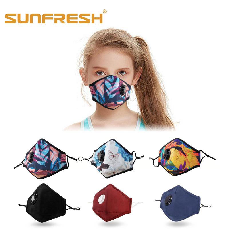Anti-dust Mask Anti-pollution Cotton Mask Mouth Cover Breath Valve PM2.5 Activated Carbon Filter Anti-cold 10 Types Fashion Mask